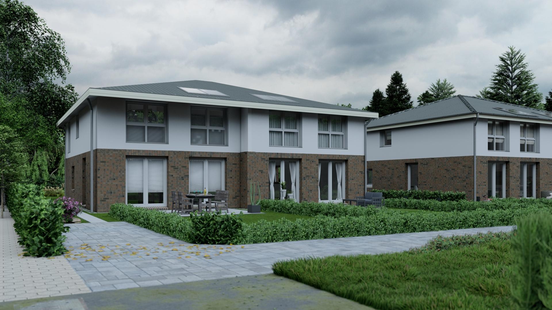 Doppelhaushälfte in Billwerder, am Ende einer Sackgasse (DHH 1) - 2001_1